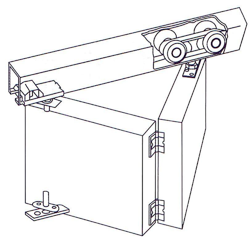 как сделать фурнитуру для раздвижных дверей
